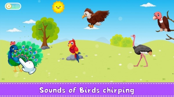 Animal Sound For Kids Learning Android Application Image 3