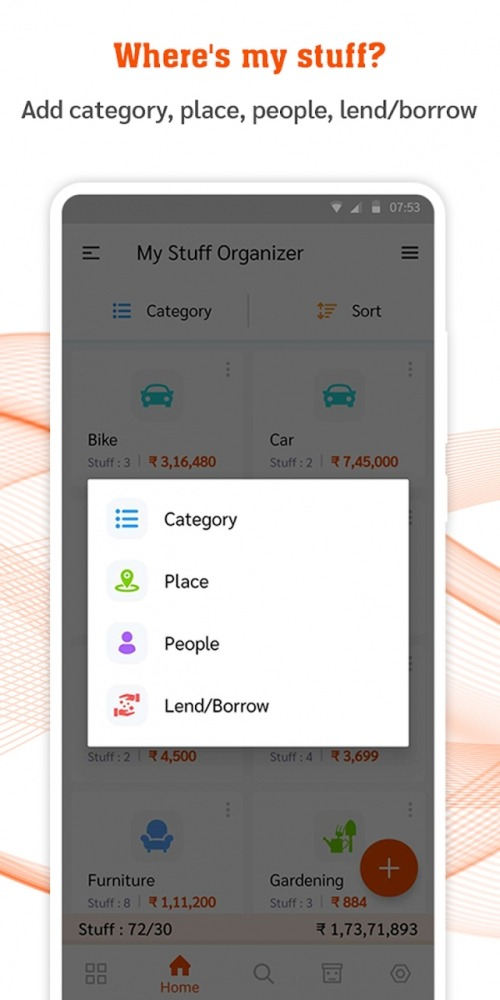 My Stuff Organizer: For Home Inventory Management Android Application Image 2