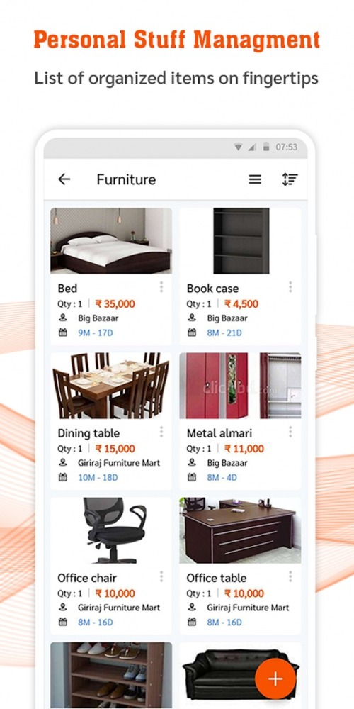 My Stuff Organizer: For Home Inventory Management Android Application Image 3