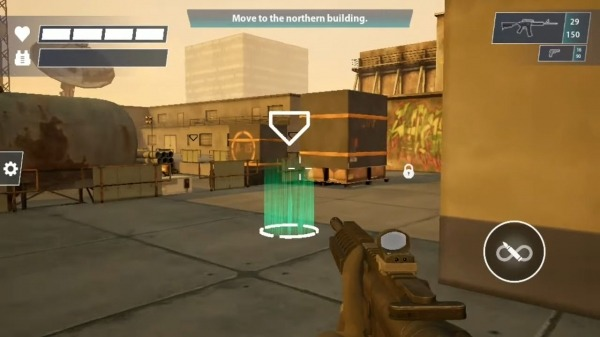 Black Bell Tactical FPS Shooter Android Game Image 1