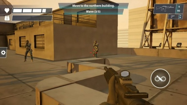 Black Bell Tactical FPS Shooter Android Game Image 2