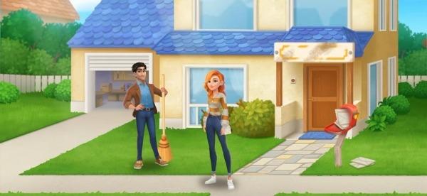 DesignVille: Merge, Interior & Garden Design Game Android Game Image 2