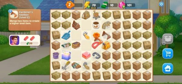 DesignVille: Merge, Interior & Garden Design Game Android Game Image 3