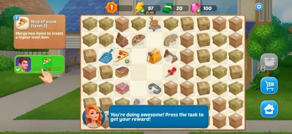 DesignVille: Merge, Interior & Garden Design Game Android Game Image 4