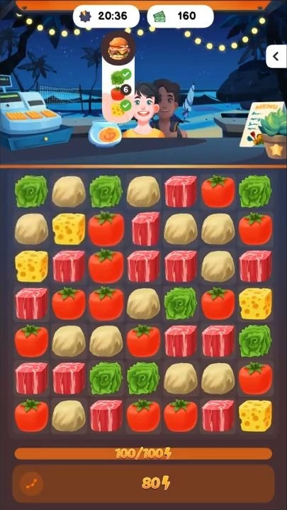 Food Frenzy: Puzzle Android Game Image 2