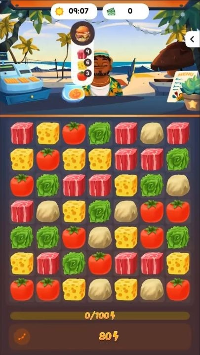 Food Frenzy: Puzzle Android Game Image 3