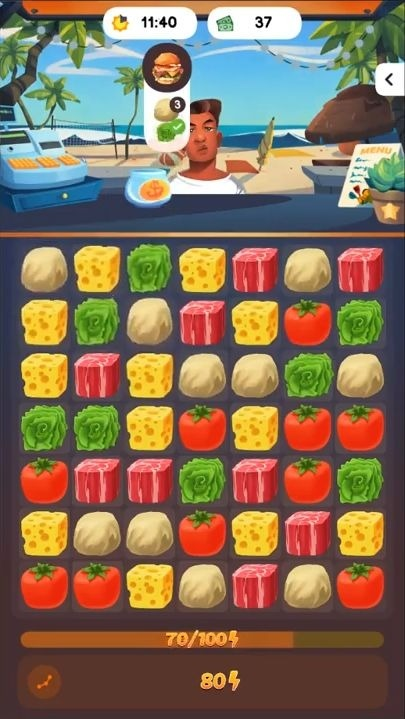 Food Frenzy: Puzzle Android Game Image 4