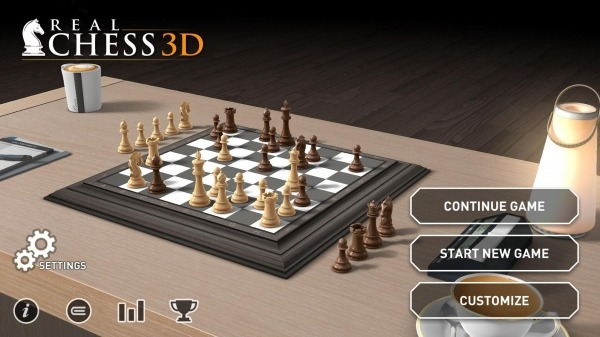 Real Chess 3D Android Game Image 1