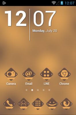 VinBadges Icon Pack Android Theme Image 1