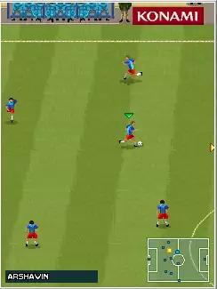Pro Evolution Soccer 2010 (PES 2010) Java Game Image 3