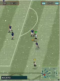 Pro Evolution Soccer 2010 (PES 2010) Java Game Image 4