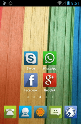 UP Icon Pack Android Theme Image 2