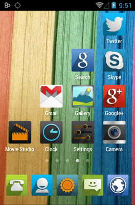 UP Icon Pack Android Theme Image 3