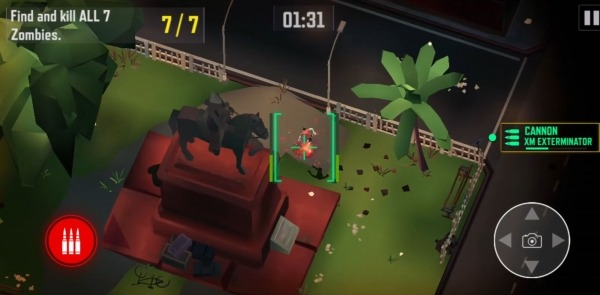 Drone 4: Zombie Strike Android Game Image 3