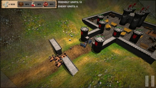 Medieval Castle Conqueror Android Game Image 3