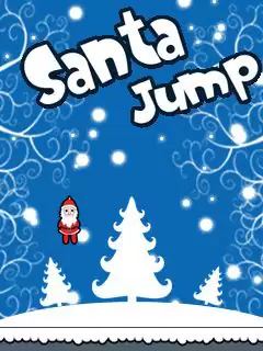 Santa Jump Java Game Image 1