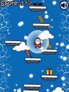 Santa Jump Java Game Image 2