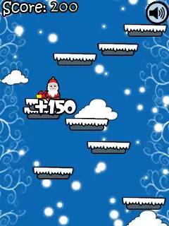 Santa Jump Java Game Image 3