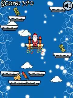 Santa Jump Java Game Image 4