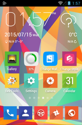Voxel Icon Pack Android Theme Image 1