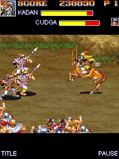 Warriors Of Fate Java Game Image 2