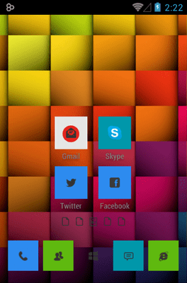 Windows 8 Icon Pack Android Theme Image 2