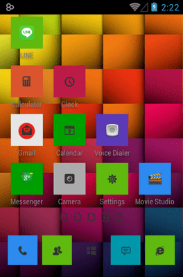 Windows 8 Icon Pack Android Theme Image 3