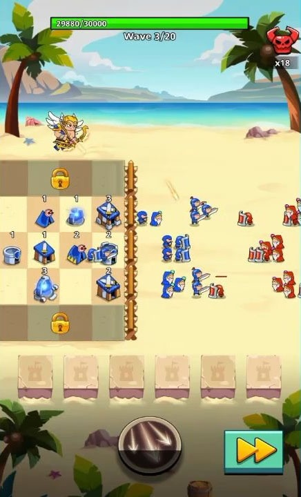 Save The Kingdom: Merge Towers Android Game Image 1