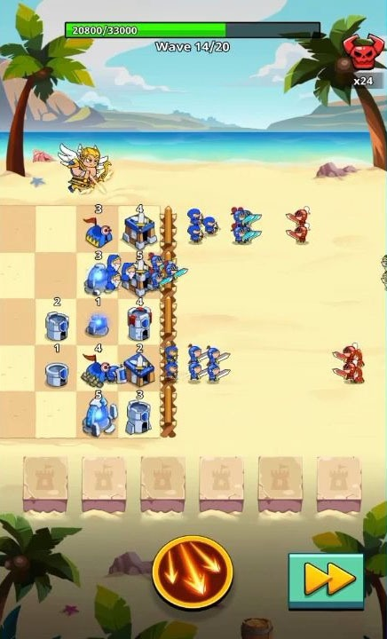 Save The Kingdom: Merge Towers Android Game Image 2
