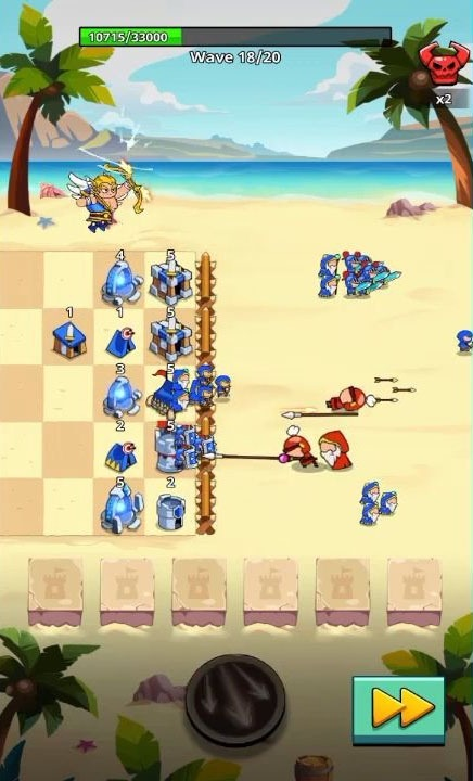 Save The Kingdom: Merge Towers Android Game Image 3