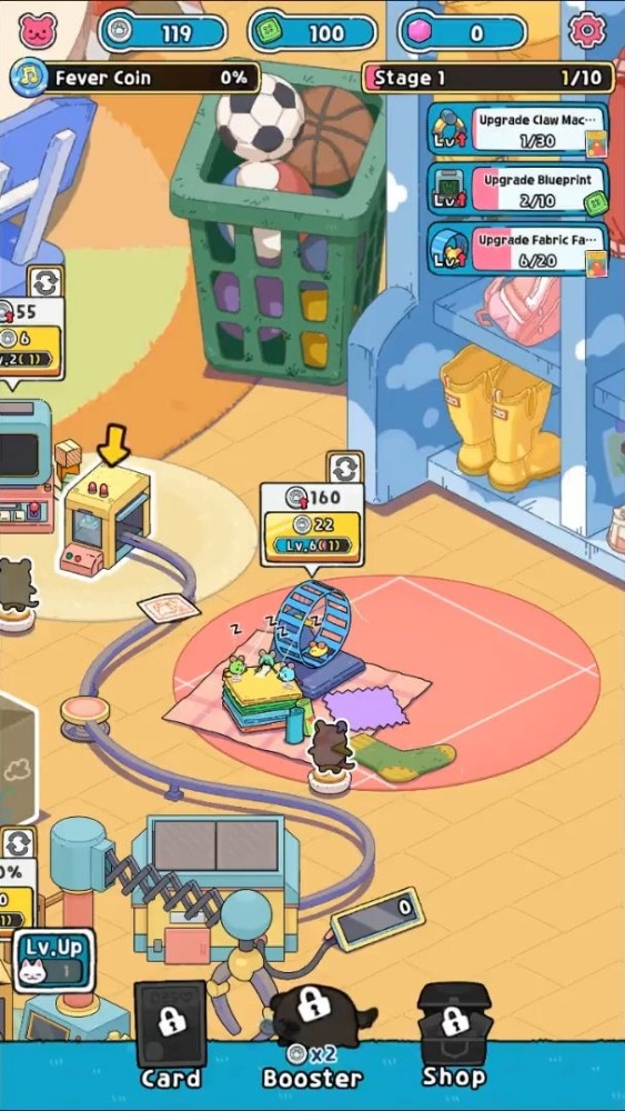 Idle Toy Claw Tycoon Android Game Image 1