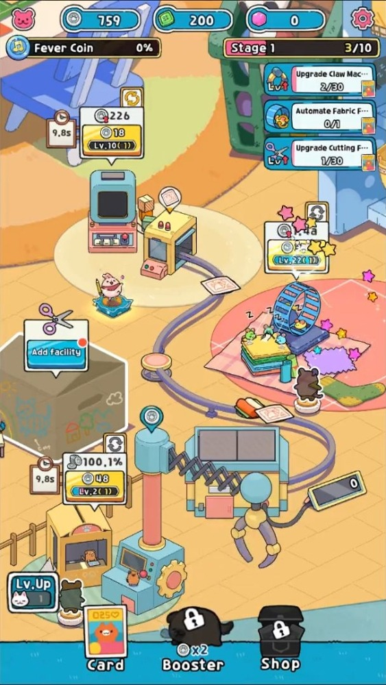 Idle Toy Claw Tycoon Android Game Image 2