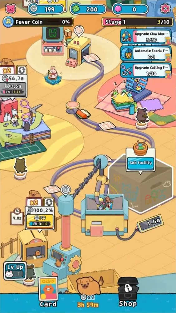 Idle Toy Claw Tycoon Android Game Image 3