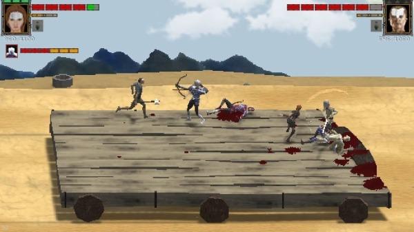 MannaRites - Fantasy Beat Em Up Android Game Image 4