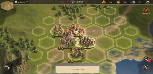 Rome Empire War: Strategy Games Android Game Image 3