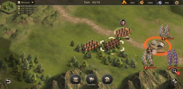Rome Empire War: Strategy Games Android Game Image 4