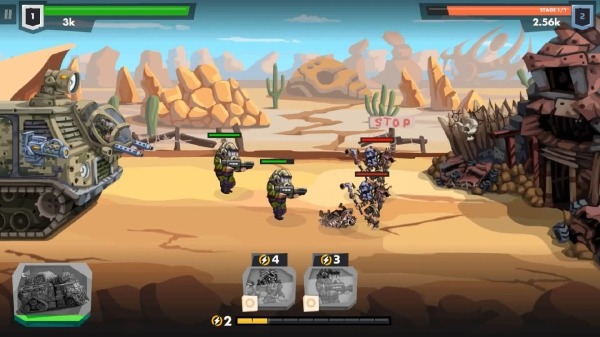 SURVPUNK - Epic War Strategy In Wasteland Android Game Image 3