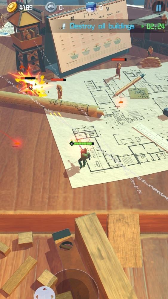 Toy Corps Android Game Image 1