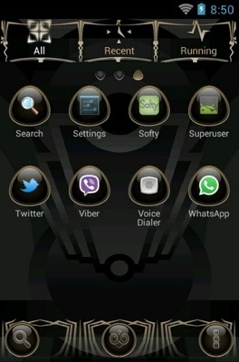 The Lighthouse Go Launcher Android Theme Image 3