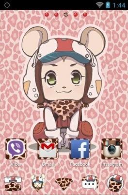 Pinkshuke Go Launcher Android Theme Image 2