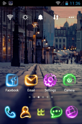 Tonight Go Launcher Android Theme Image 1
