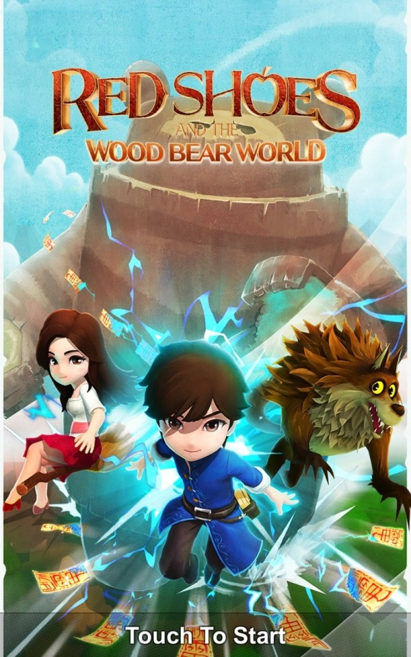 Red Shoes: Wood Bear World Android Game Image 1