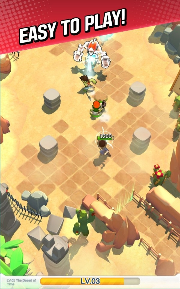 Red Shoes: Wood Bear World Android Game Image 2