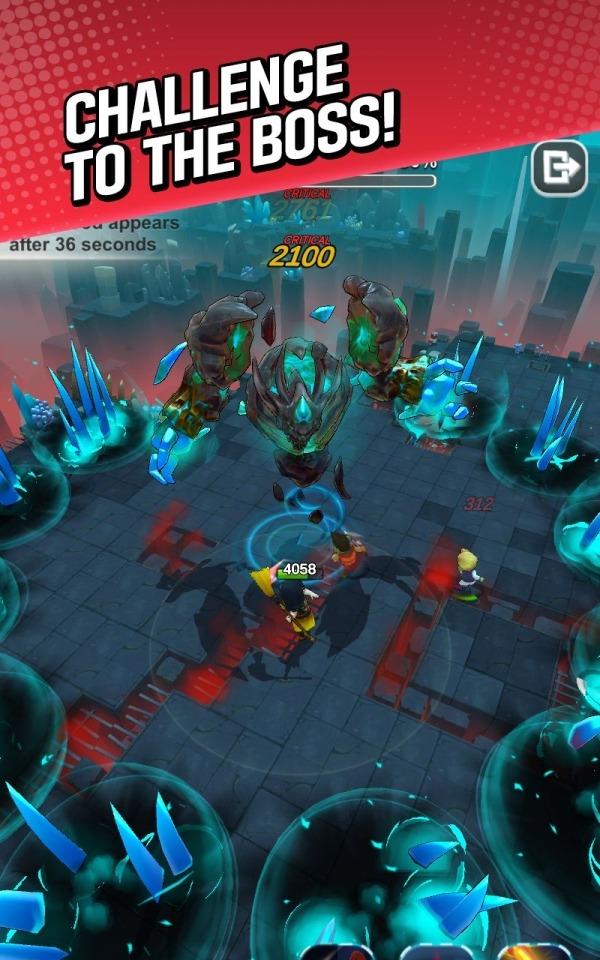 Red Shoes: Wood Bear World Android Game Image 3