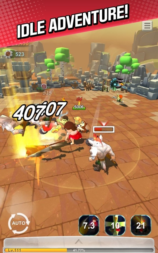 Red Shoes: Wood Bear World Android Game Image 4