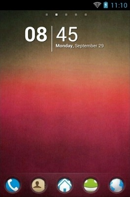 Pink Texture Go Launcher Android Theme Image 1