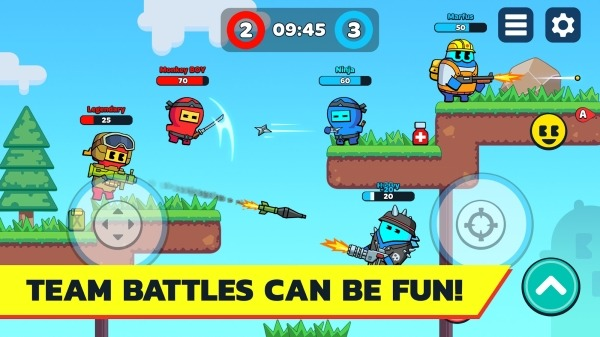 BOOM GUYS Top Online PVP Brawl Android Game Image 2