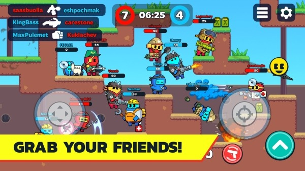 BOOM GUYS Top Online PVP Brawl Android Game Image 3