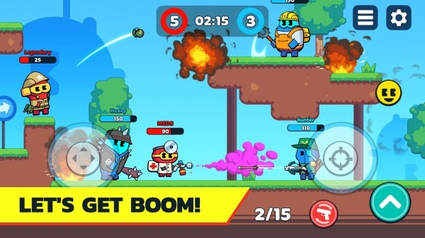 BOOM GUYS Top Online PVP Brawl Android Game Image 4