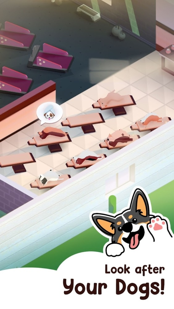 Dog Hotel Tycoon Android Game Image 2